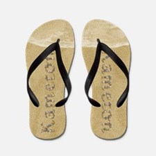 Kameron Seashells Flip Flops