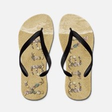Kara Seashells Flip Flops