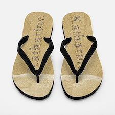 Katharine Seashells Flip Flops