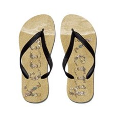 Kerry Seashells Flip Flops
