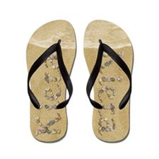 Kiera Seashells Flip Flops