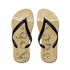 Kobe Seashells Flip Flops