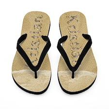 Kristian Seashells Flip Flops