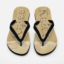 Kylee Seashells Flip Flops