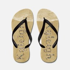 Kyleigh Seashells Flip Flops
