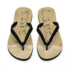 Laura Seashells Flip Flops