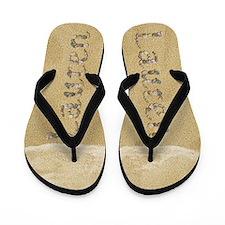 Lauren Seashells Flip Flops