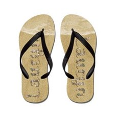 Lauryn Seashells Flip Flops