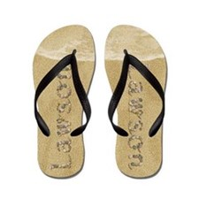 Lawson Seashells Flip Flops
