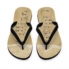 Lillian Seashells Flip Flops