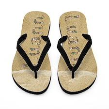 Luann Seashells Flip Flops