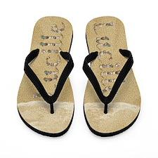 Lucille Seashells Flip Flops