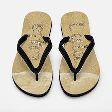 Lyla Seashells Flip Flops