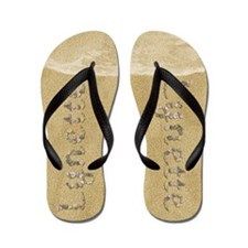 Lynette Seashells Flip Flops