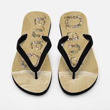Dana Seashells Flip Flops