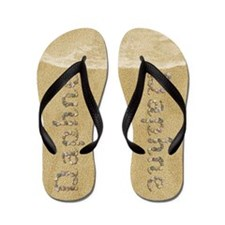 Daphne Seashells Flip Flops