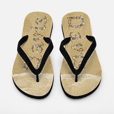 Davis Seashells Flip Flops