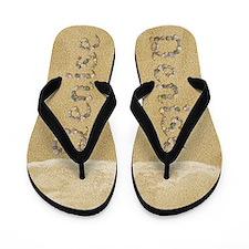 Denise Seashells Flip Flops