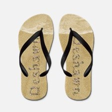 Deshawn Seashells Flip Flops
