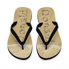 Donald Seashells Flip Flops