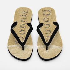 Donnie Seashells Flip Flops