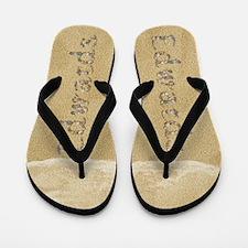 Edwards Seashells Flip Flops