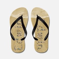 Edwin Seashells Flip Flops
