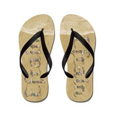 Efrain Seashells Flip Flops