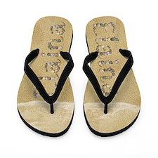 Elaina Seashells Flip Flops