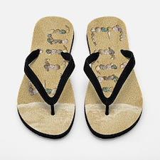 Erin Seashells Flip Flops