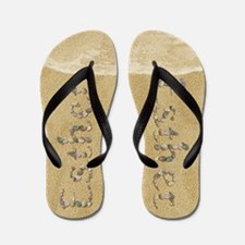 Esther Seashells Flip Flops