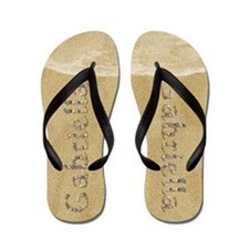 Gabriella Seashells Flip Flops