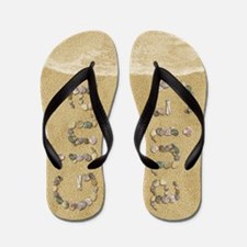 Gina Seashells Flip Flops