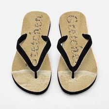Gretchen Seashells Flip Flops