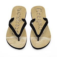Greyson Seashells Flip Flops