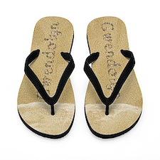 Gwendolyn Seashells Flip Flops