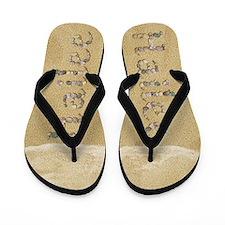 Hailee Seashells Flip Flops