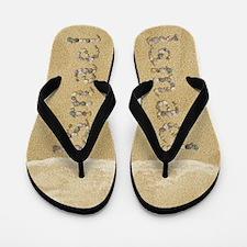 Ismael Seashells Flip Flops