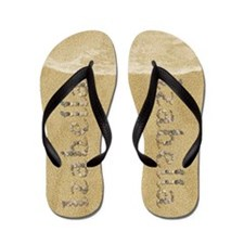 Izabella Seashells Flip Flops