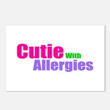 Cutie With Allergies Postcards (Package of 8)