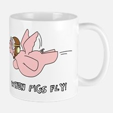 When Pigs Fly! Mugs