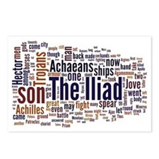 Word Art from Homer's Ili Postcards (Package of 8)