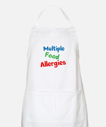 Multiple Food Allergies Apron