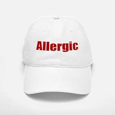Allergic Baseball Baseball Baseball Cap