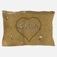 Ayden Beach Love Pillow Case
