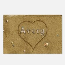 Avery Beach Love Postcards (Package of 8)