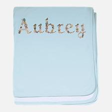 Aubrey Seashells baby blanket