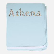 Athena Seashells baby blanket