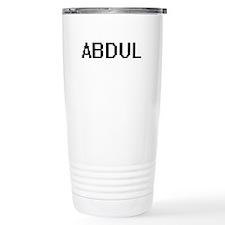 Abdul Digital Name Desi Travel Mug