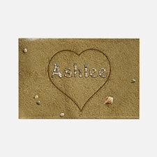 Ashlee Beach Love Rectangle Magnet